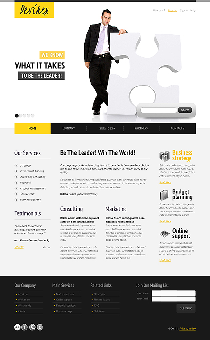 Website Template #34698
