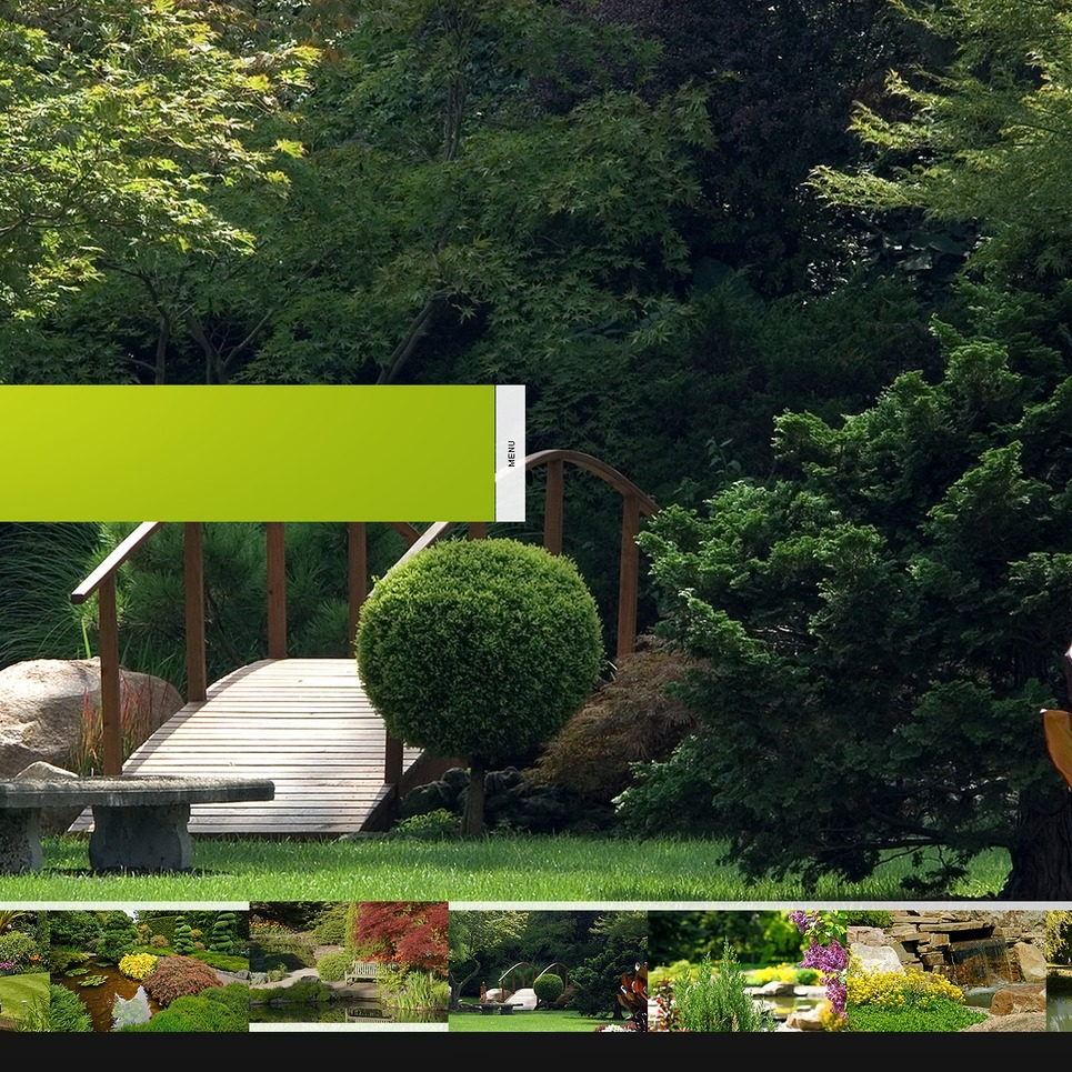 Landscape Design Facebook Flash CMS Template New Screenshots BIG