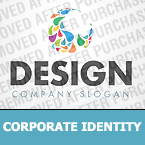 Corporate identity template #34822 by Logann