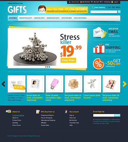 Gifts – Stress killer