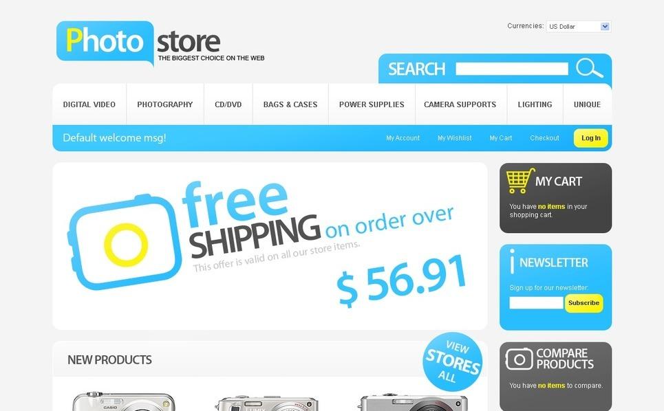 Electronics Store Magento Theme New Screenshots BIG