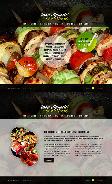 Website Template #34859