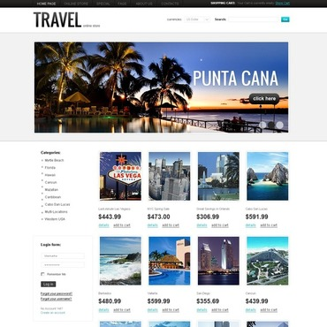Travel Agency VirtueMart Template