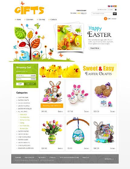 Refined, harmonious and Gorgeous Gift Shop PrestaShop Themes ...