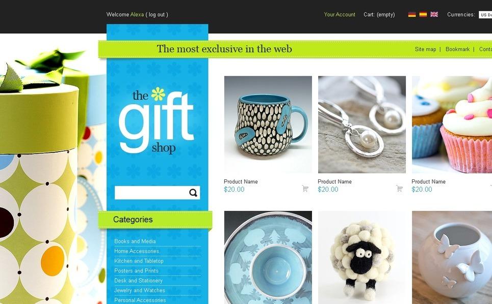 Beautiful gifts PrestaShop Theme New Screenshots BIG