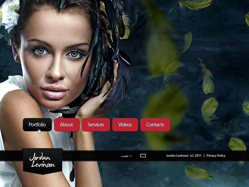 Photographer Portfolio Facebook Flash Template New Screenshots BIG