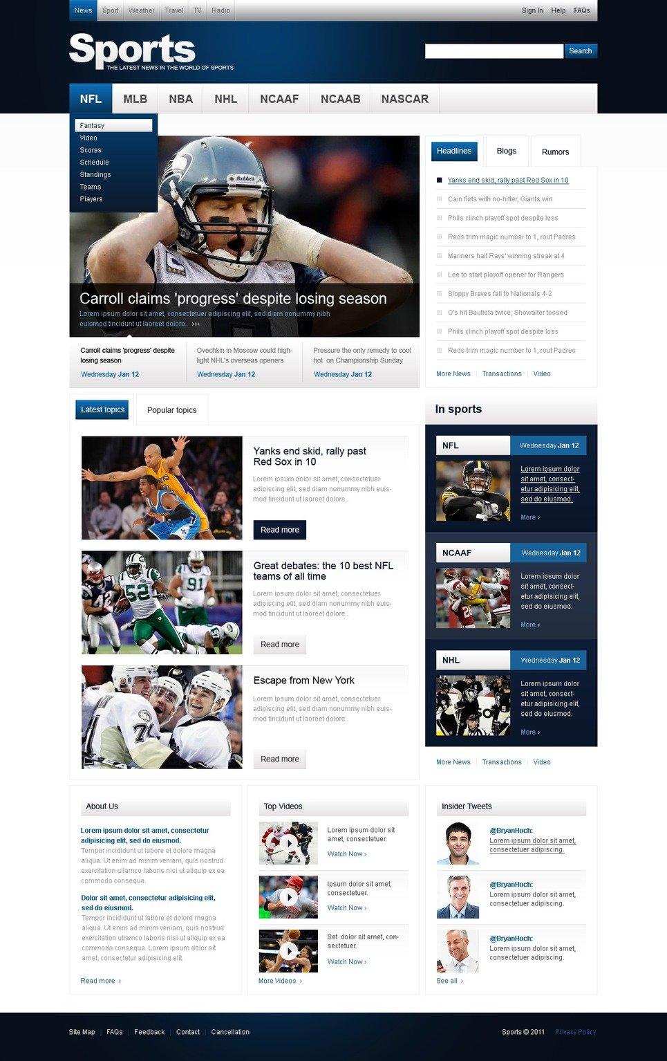 Sports Newsletter