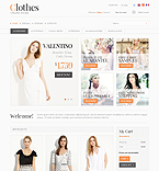 Clothes Online - PrestaShop Theme #35046 by Hermes