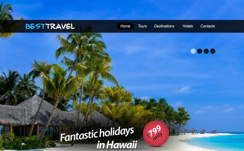 Travel Agency Website Template New Screenshots BIG