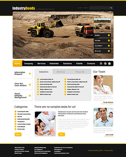Website Template #35074