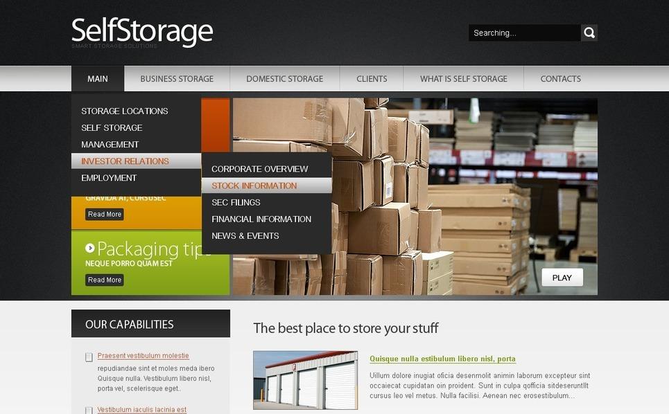 Maintenance Services Website Template New Screenshots BIG