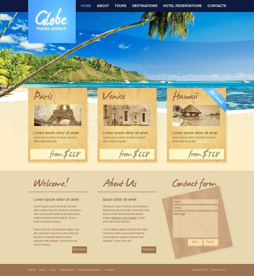 Travel Agency Turnkey Website 2 0 35103