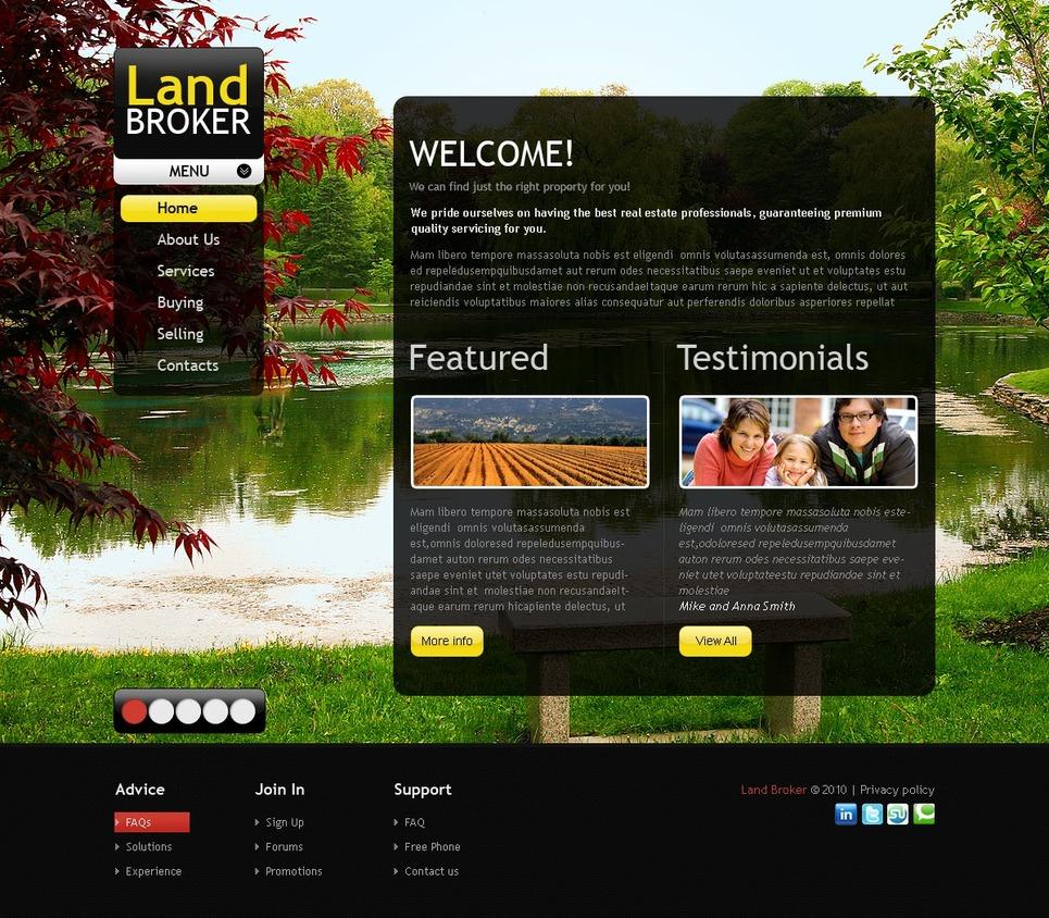 Land Broker Turnkey Website 2.0