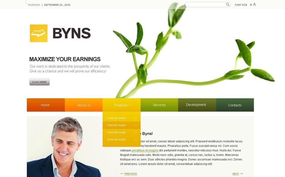 Consulting Turnkey Website 2.0 New Screenshots BIG