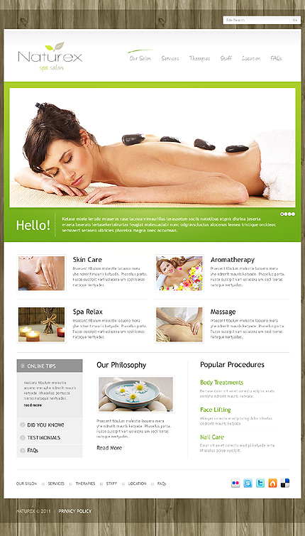 Naturex - Beauty WordPress Theme