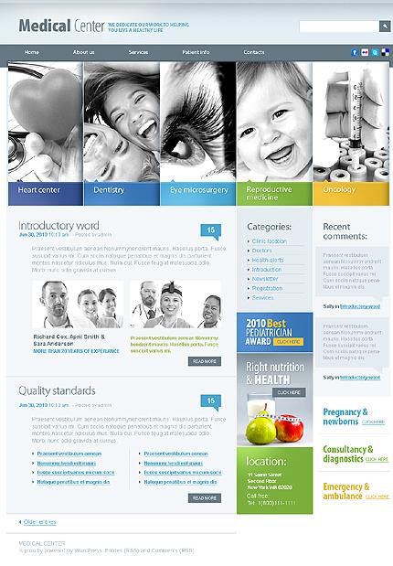 Medical Center WordPress Theme