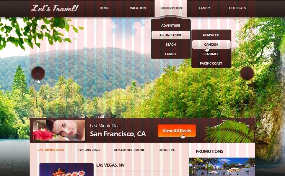 Travel Agency Joomla Template New Screenshots BIG