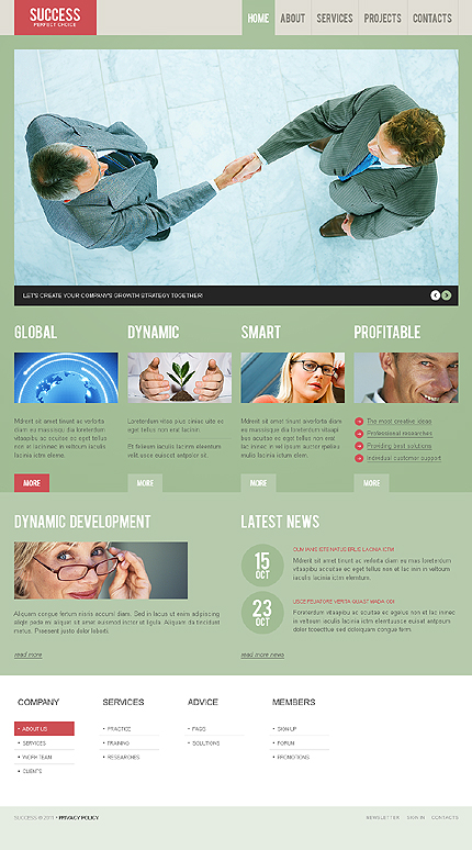 Success - Business WordPress Theme