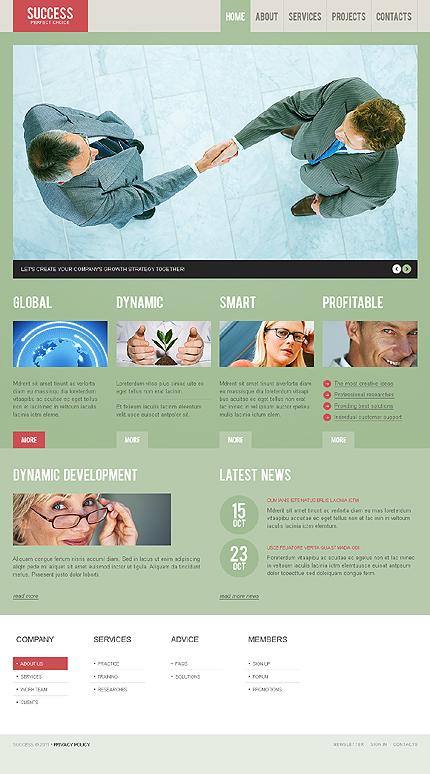 Success - Business WordPress Theme