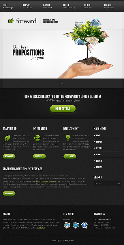 Forward - Business WordPress Theme