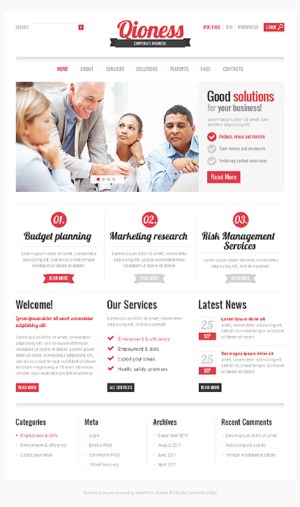 Website Template #35237
