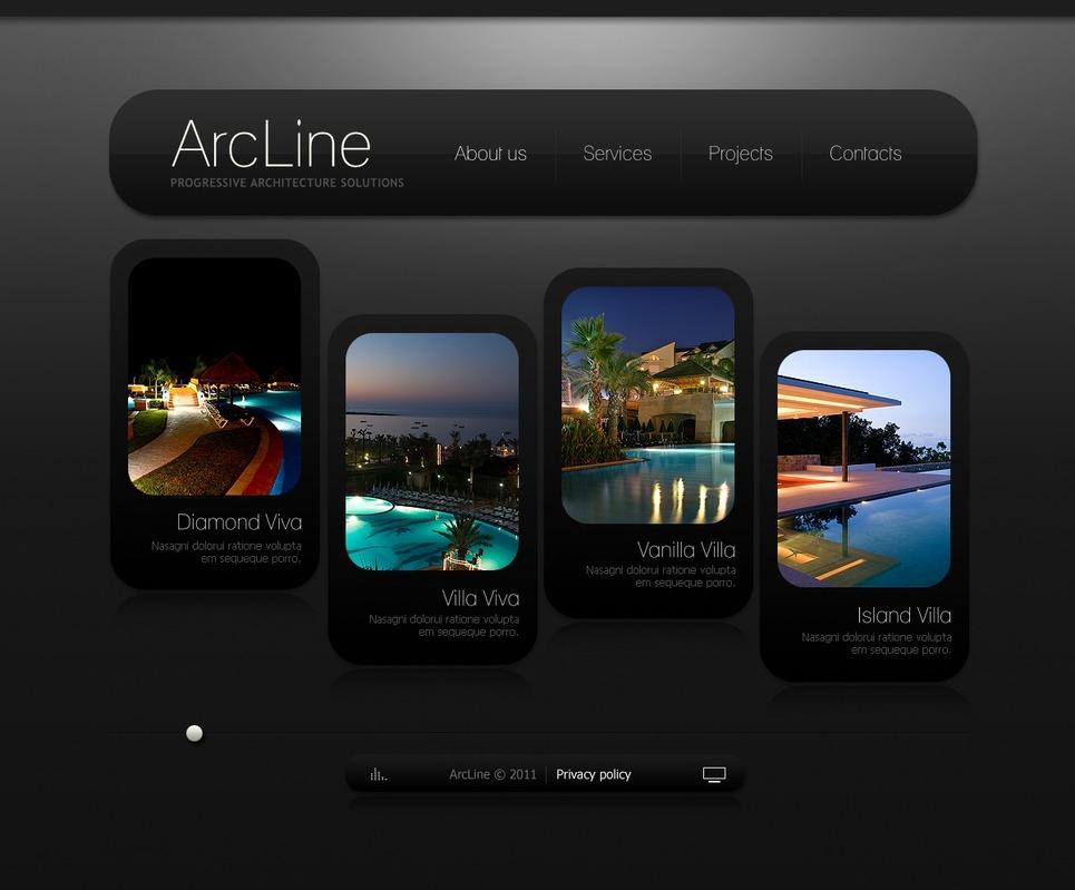 Architecture Facebook Flash Template New Screenshots BIG