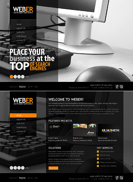 Website Template #35244