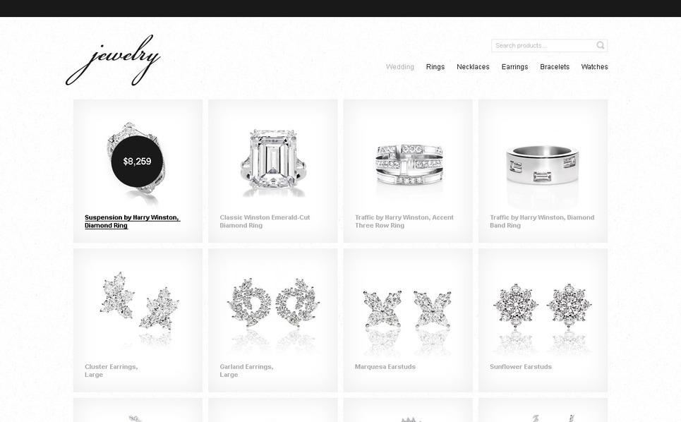 Jewelry Magento Theme New Screenshots BIG
