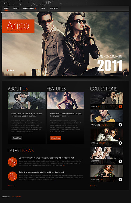 Website Template #35288