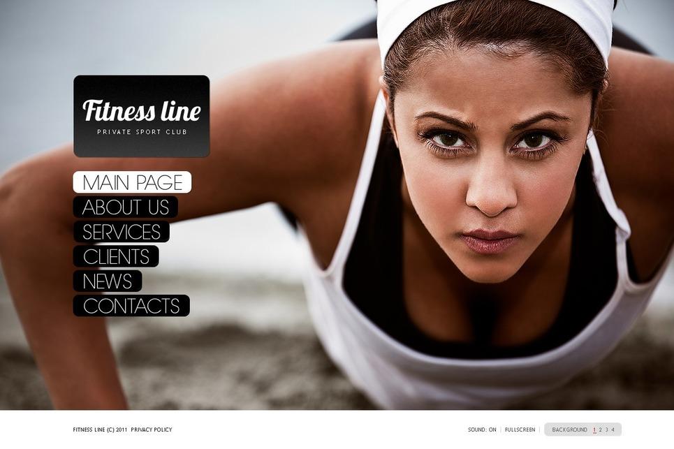 Fitness Flash Template New Screenshots BIG