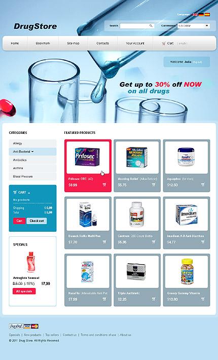 Drug store - Salutary Online Drug Store PrestaShop Theme