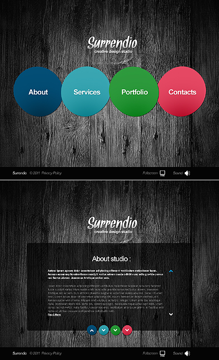 Website Template #35443