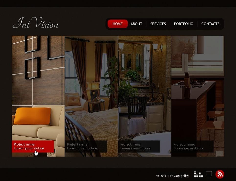 Mod le flash 35444 pour site de design int rieur for Site design interieur