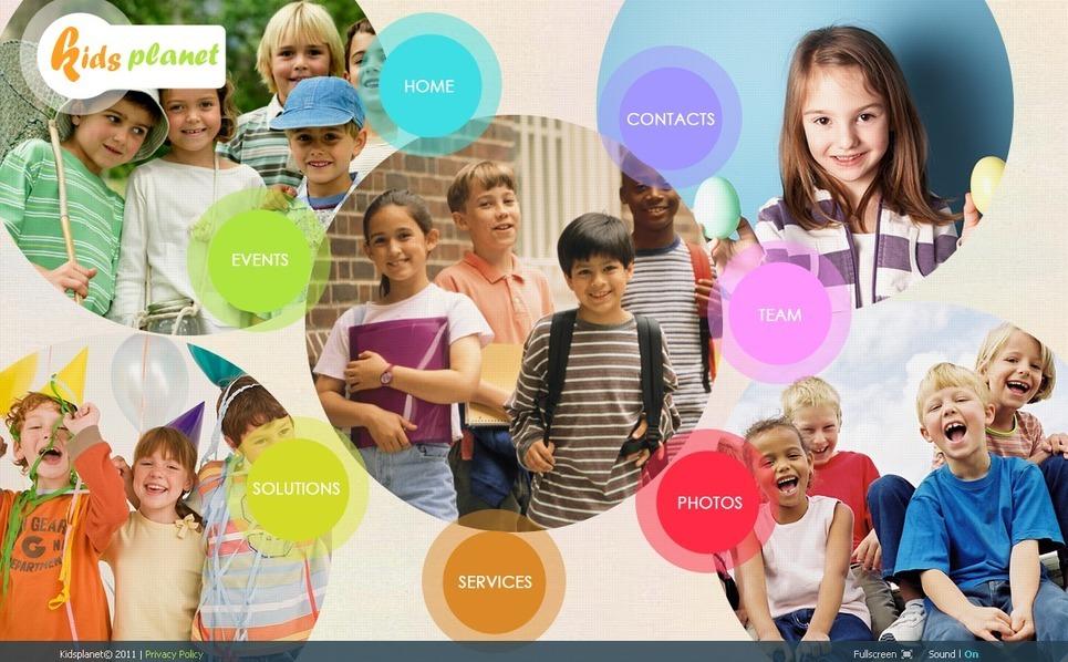 Kids Center SWiSH Template New Screenshots BIG