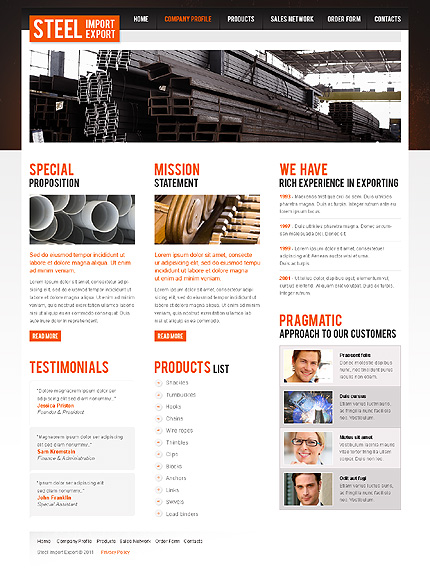 Website template 35462 (TM #35462) - Website Templates - special ...