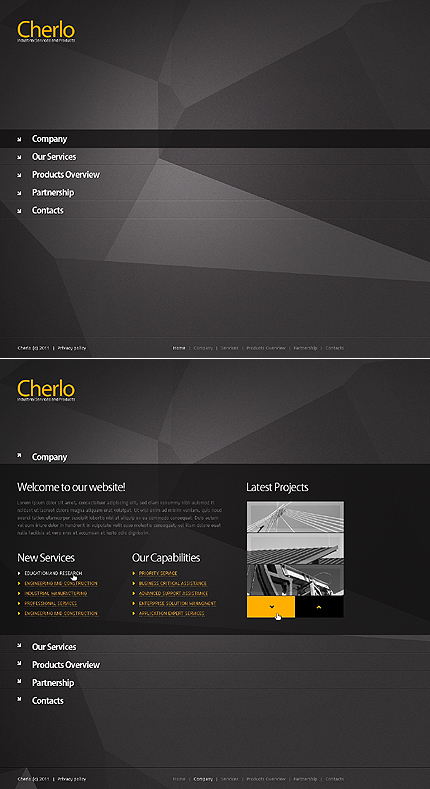 Website Template #35469