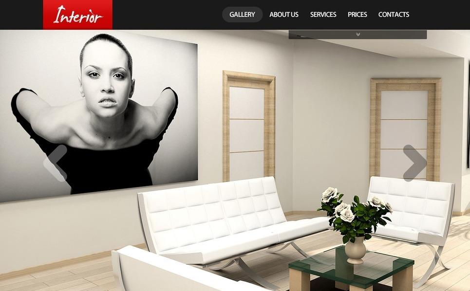 Interior Design Flash Template New Screenshots BIG
