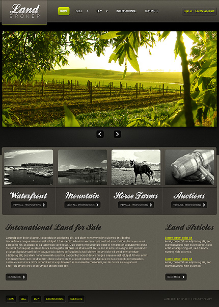 Website Template #35506