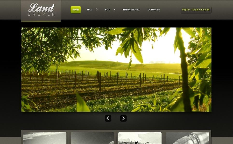 Land Broker PSD Template New Screenshots BIG