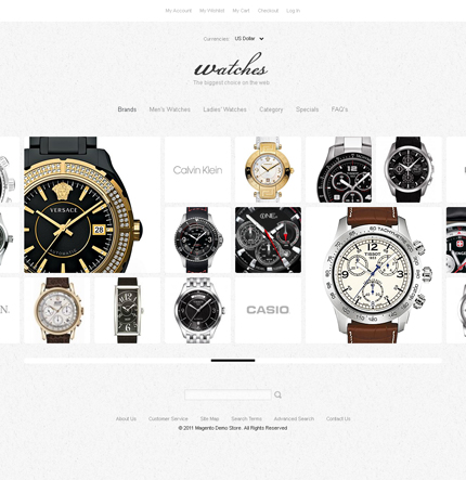 Watches - Terrific Watches Store Magento Theme