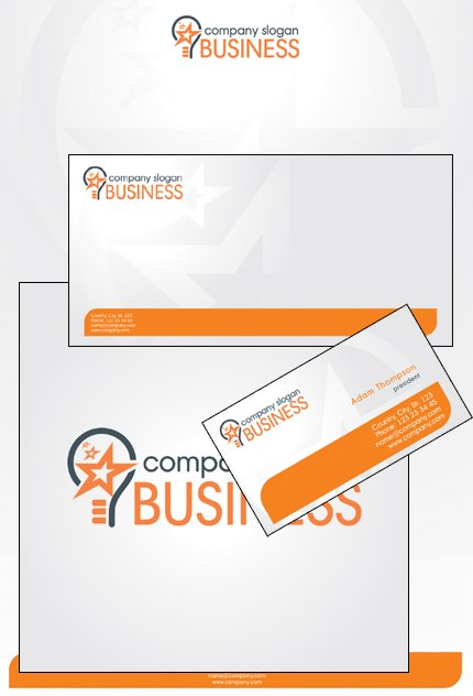 Business Corporate Identity Template Vector Corporate Identity preview