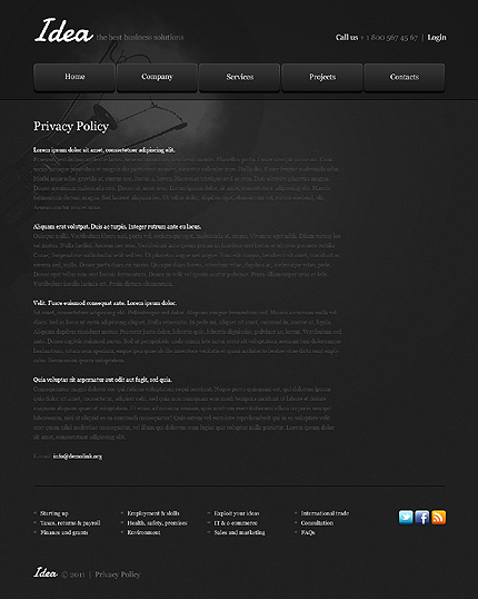 Website Template #35619