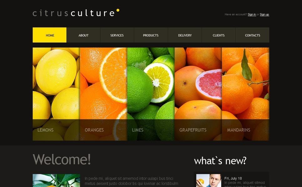Fruit Joomla Template New Screenshots BIG