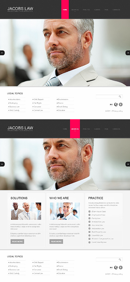 Website Template #35704