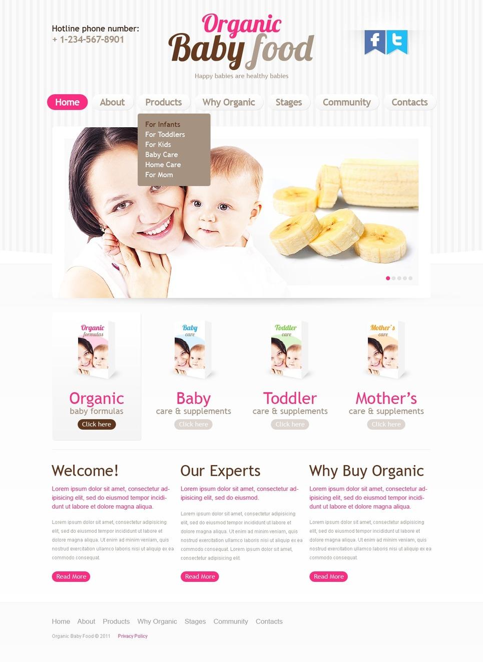 Day Care Website Template New Screenshots BIG