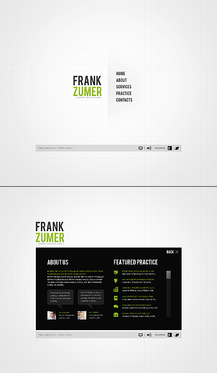Website Template #35760