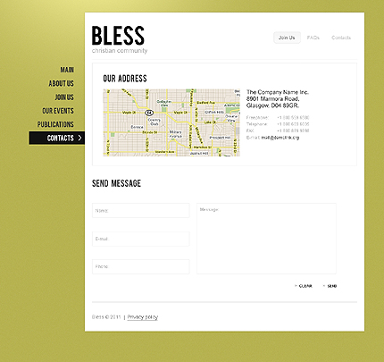 Website Template #35835