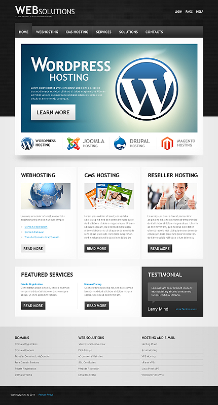Website Template #35848