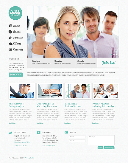 Website Template #35876