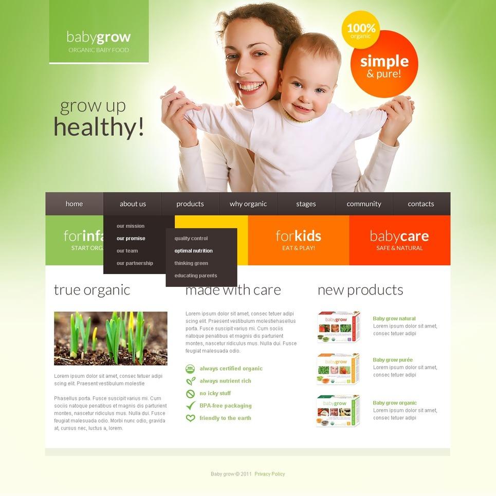 Newborn Joomla Template New Screenshots BIG
